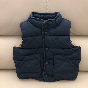 Baby Gap 2 Year Toddler Boy Navy Vest